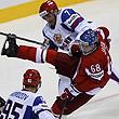 Сборная Чехии по хоккею, Сборная России по хоккею, ЧМ-2011