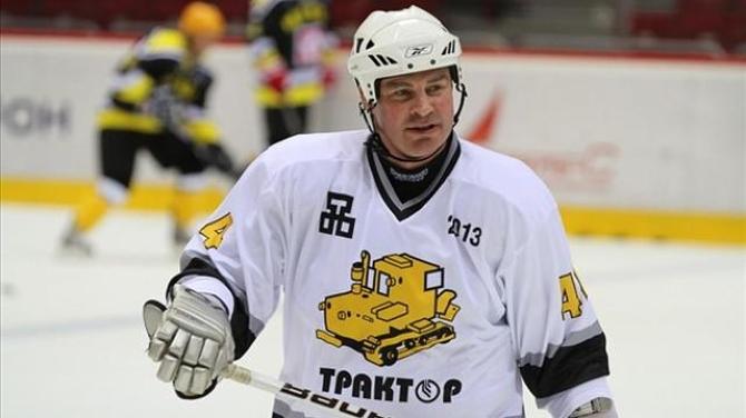 Металлург Мг, Трактор, суперлига России, сборная России, Анахайм, НХЛ, Валерий Карпов