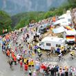 Тур де Франс, велошоссе, телевидение