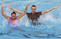 синхронное плавание, Дарина Валитова, Александр Мальцев, Европейские игры