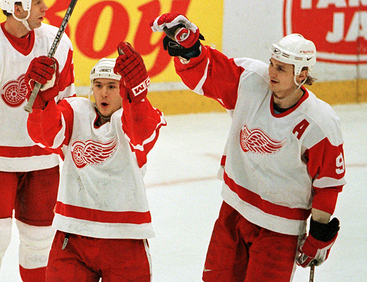 Как играли в НХЛ русские тройки