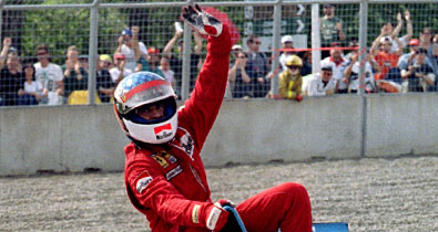 Жан Алези: «Я догнал Шумахера, и тут мой мотор взорвался!»