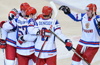 сборная России, фото, ЧМ-2012, сборная Дании