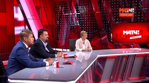Первый эфир телеканала - Вячеслав Горюнов - Sports.ru