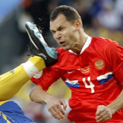 Сергей Игнашевич побил рекорд Виктора Онопко по количеству матчей, проведенных за сборную России
