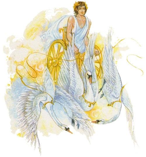 Почему рядом с аполлоном нередко изображался сказочный крылатый конь пегас