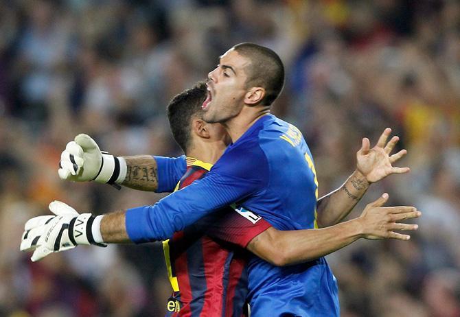 Виктор Вальдес, «Барселона».