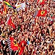 болельщики, фото, Фернандо Алонсо, Гран-при Италии