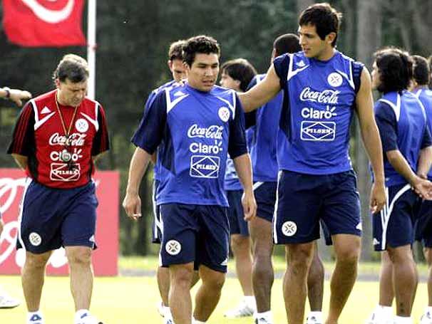 Тренировка сборной Парагвая