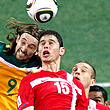 Сборная Австралии по футболу, Сборная Сербии по футболу, ЧМ-2010, Тим Кэйхилл