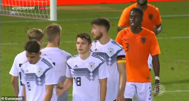 сборная Германии U-20, ПСВ, Джордан Тезе