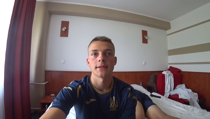 Иван Литвиненко, сборная Украины U-18