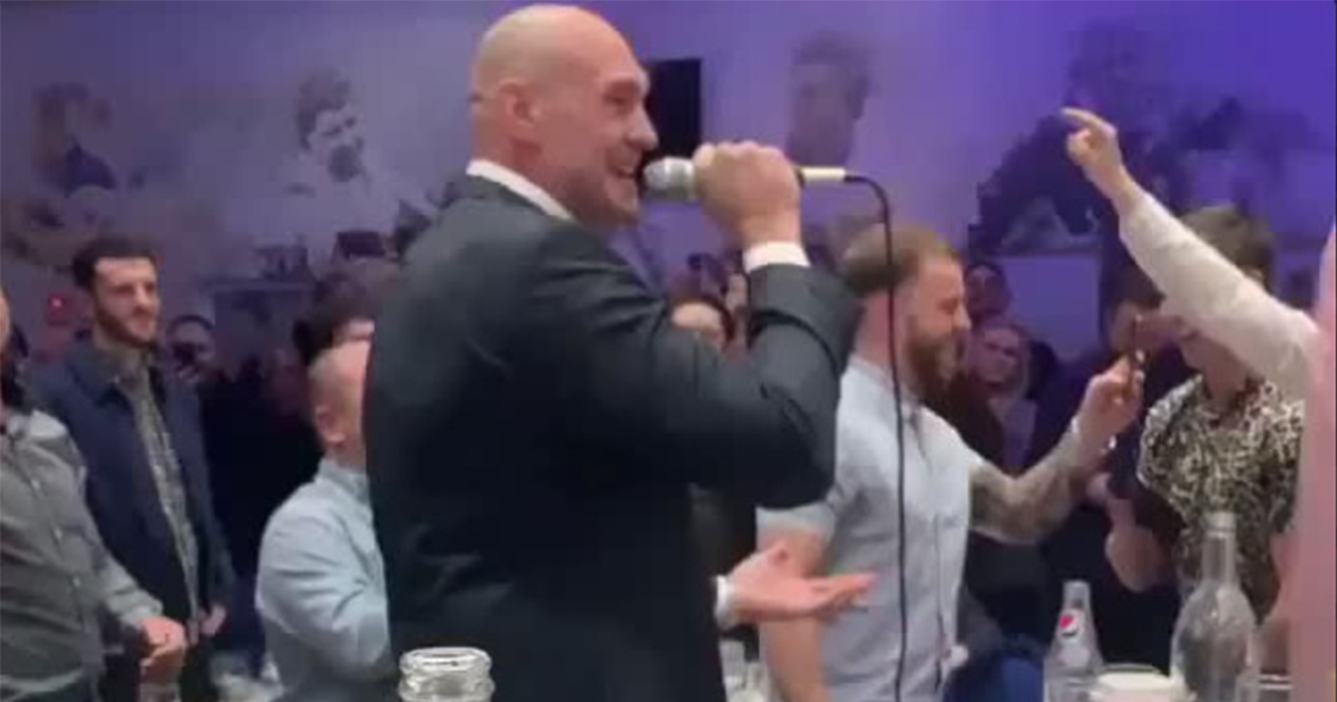 Тайсон Фьюри, супертяжелый вес