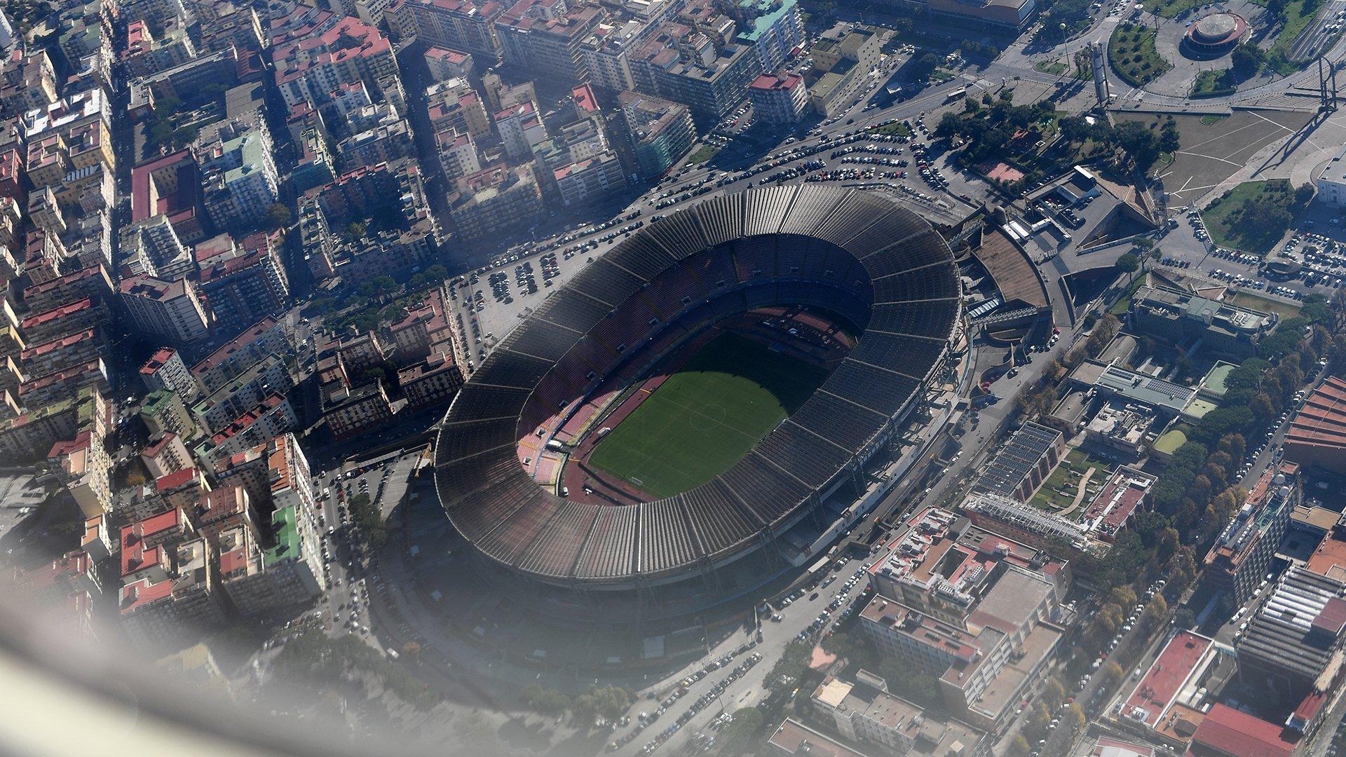 Стадион Сан-Паоло в Неаполе