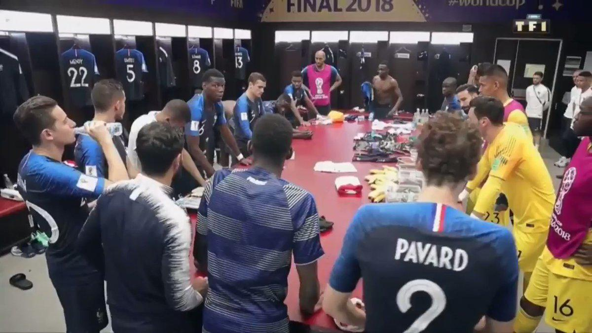 Сборная Франции по футболу, Поль Погба, ЧМ-2018