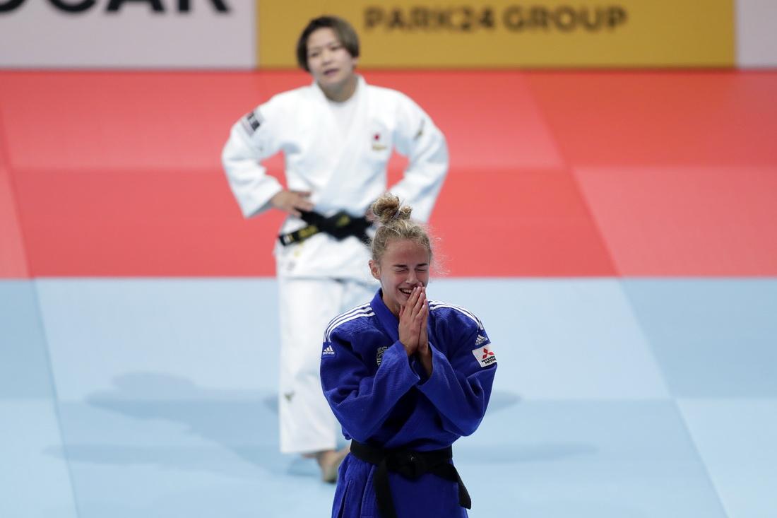 Дарья Белодед, сборная Японии, Гран-при, чемпионат Европы (дзюдо), дзюдо, чемпионат мира
