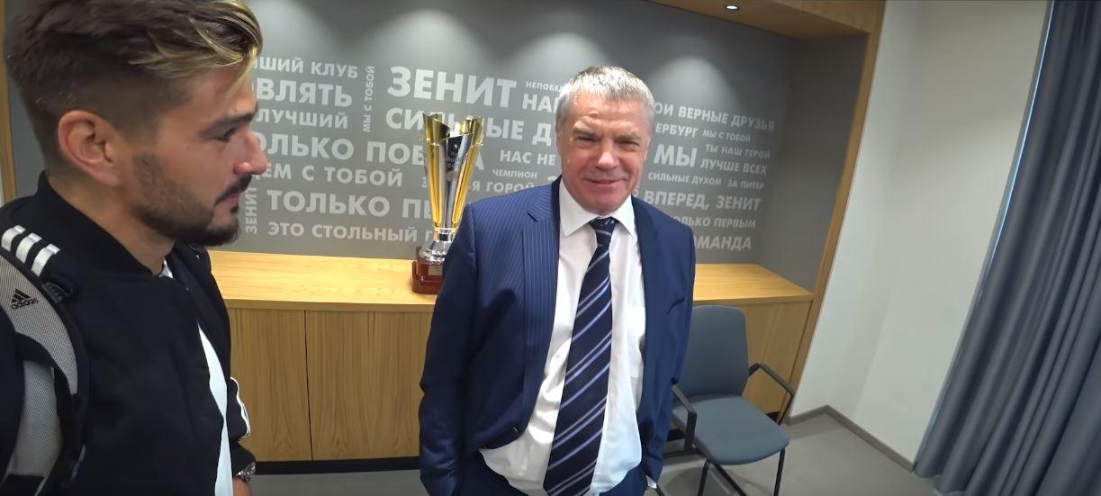 Евгений Савин и Александр Медведев