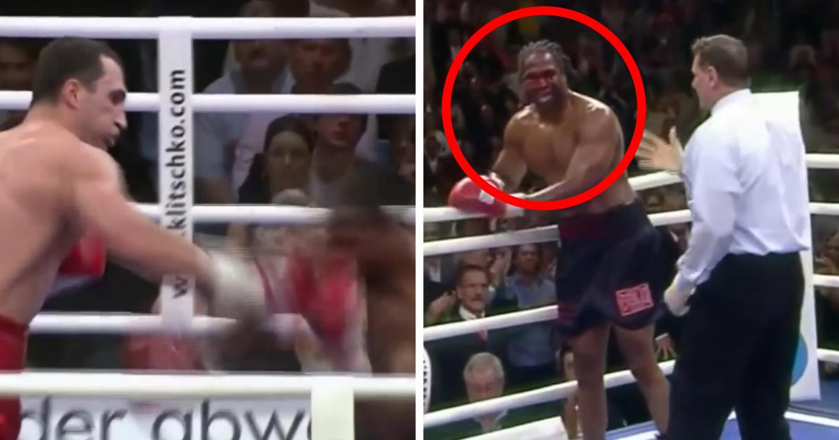 Владимир Кличко превращал лицо Криса Берда в котлету. А потом извинялся перед сыном проигравшего