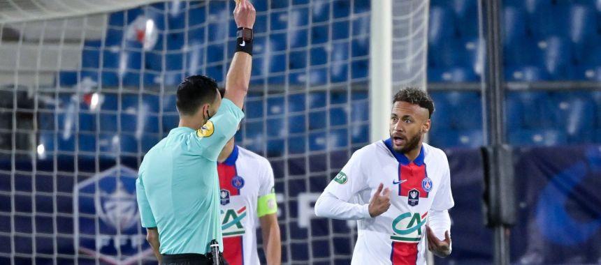 Неймар не сыграет в финале Кубка Франции против «Монако»