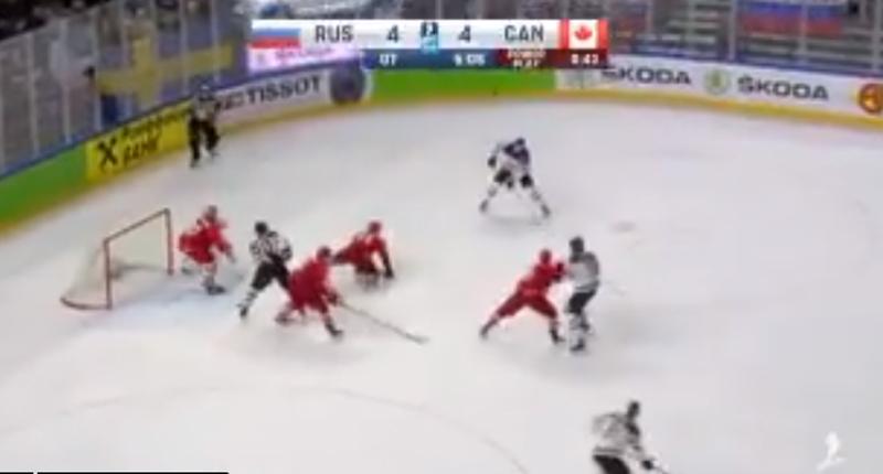 чемпионат мира, Сборная Канады по хоккею, Сборная России по хоккею