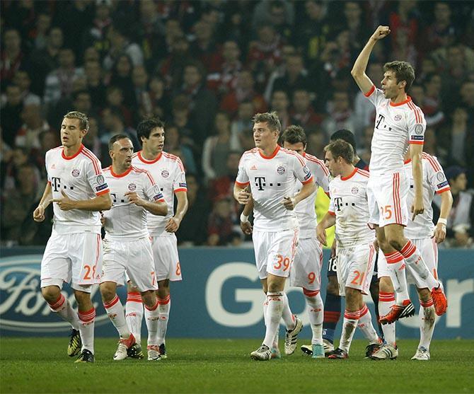Томас Мюллер – символ рекорда «Баварии».
