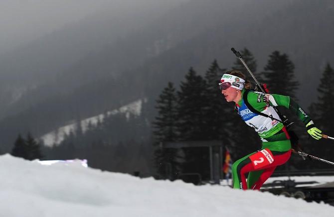 Дарья Домрачева - одна из немногих, кто в Сочи будет претендовать на медали.