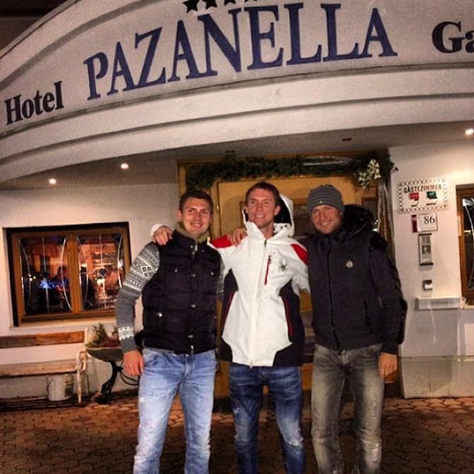 Братья Глебы в преддверии Нового года отправились на горнолыжный курорт в Австрию