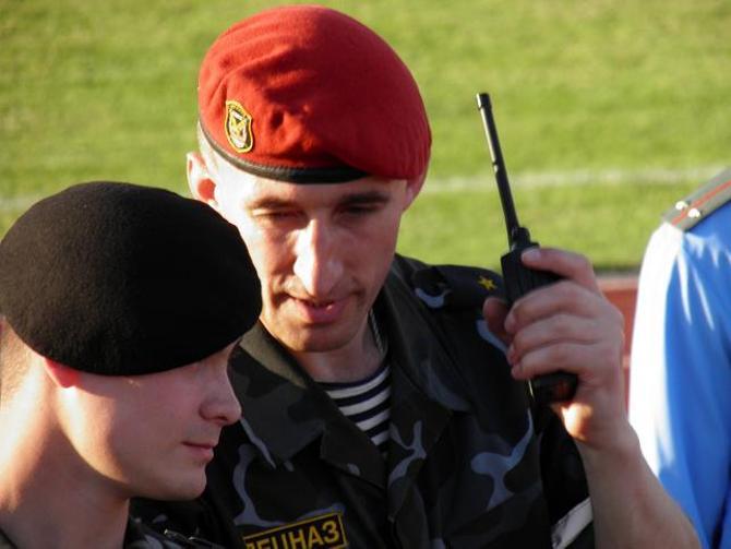 В спецназе служат крепкие ребята, которые оперативно реагируют на любые угрозы