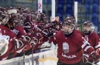 юниорский ЧМ-2017, сборная Беларуси U18, сборная Латвии U18