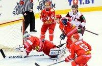 Сборная Беларуси по хоккею, Эгилс Калнс, Владимир Денисов, Андрей Сидоренко