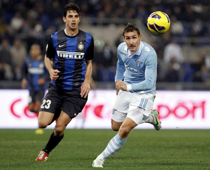 Миро Клозе одним ударом сразил весь «Интер»
