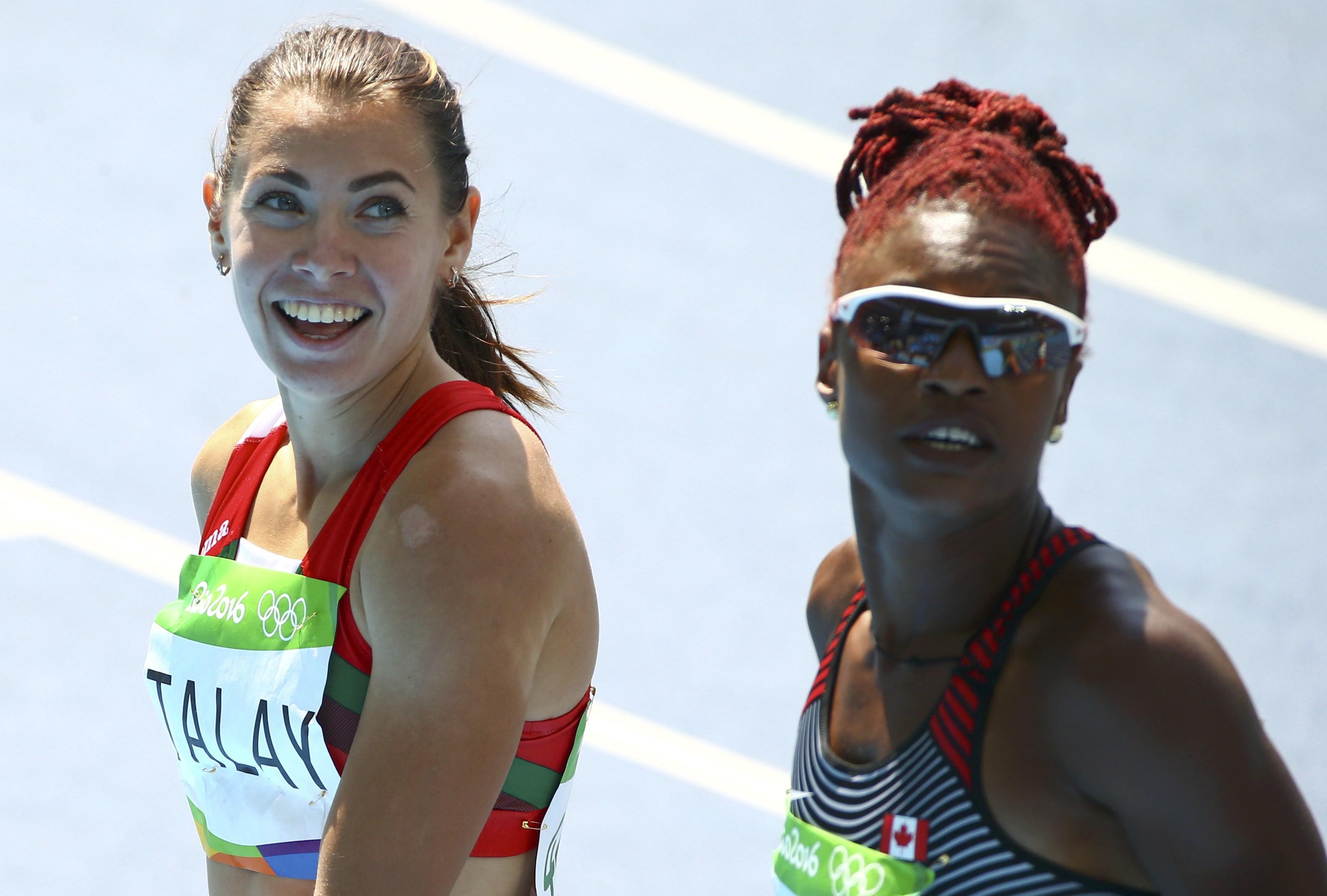 Алина Талай вбеге на100 метров сбарьерами вышла вполуфинал