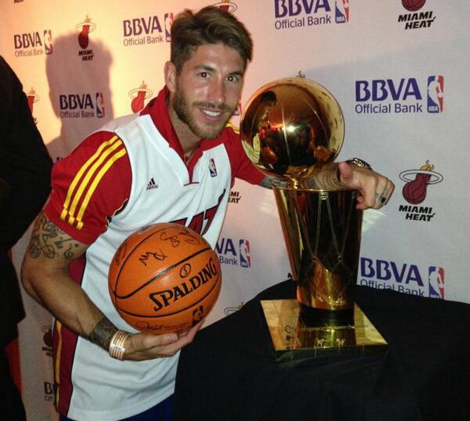 Серхио Рамос - баскетболист