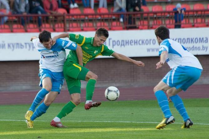 В Гродно динамовцы сыграли очередной неубедительный матч