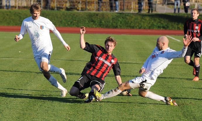 Со времен первой лиги и по сей день в команде остался лишь Игорь Лисица.