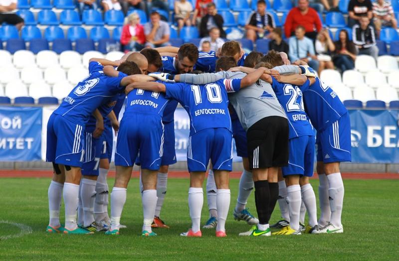Футболисты «Днепра» серьезно настраивались на домашний поединок со «Славией».