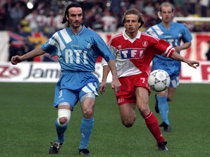 Юрген Клинсманн провел в Монте-Карло два сезона, выиграл бронзовые медали чемпионата, забивал в Лиге чемпионов.