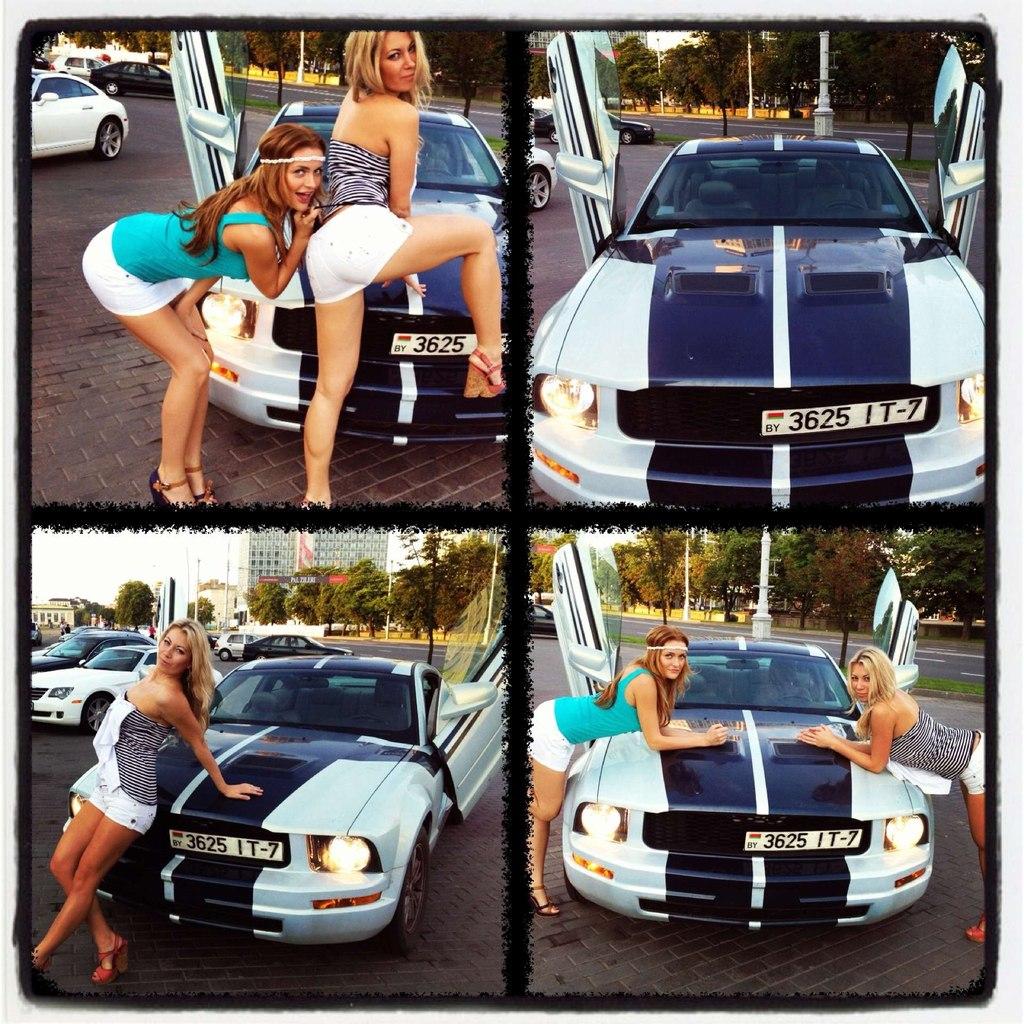 Девушки и машины — это всегда очень сексуально.