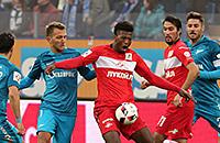 Спартак, Зенит, премьер-лига Россия, ставки на спорт, ставки на футбол