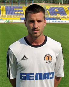 А это испанец Хосе Луис Миняно Гарсия. Теперь центральный полузащитник — игрок жодинского «Торпедо».