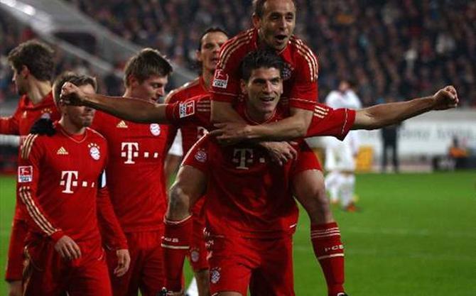 После победы над «Штутгартом» «Бавария» единолично возглавила турнирную таблицу.