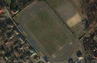 Как выглядят из космоса стадионы второй лиги