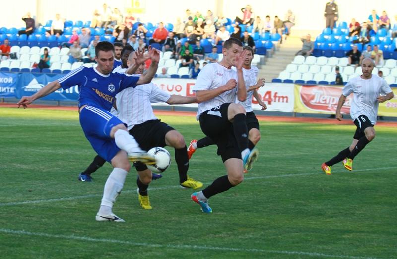Николай Зенько забил единственный мяч в этой встрече.