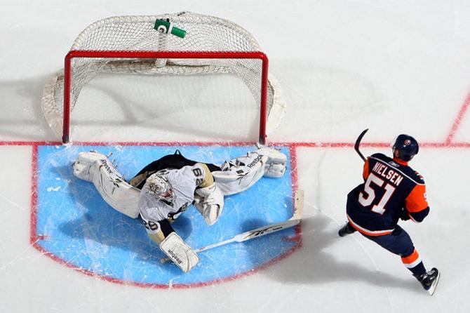 Франс Нильсен реализует буллиты лучше всех в НХЛ.
