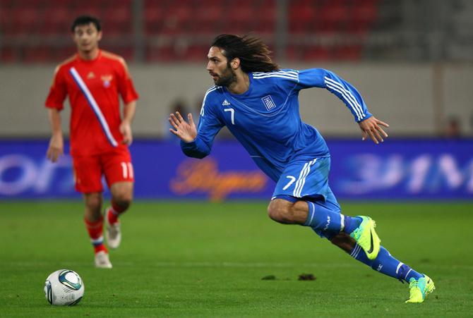 Матчи со сборной России у греков традиционно не получаются.
