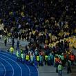Динамо Киев, Лига Европы, происшествия, болельщики, видео, НСК Олимпийский, Генгам