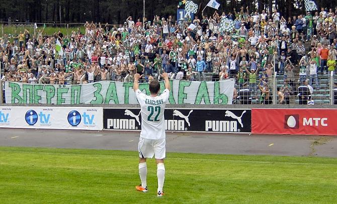 В воскресенье футболисты были просто обязаны благодарить своих болельщиков за качественную поддержку