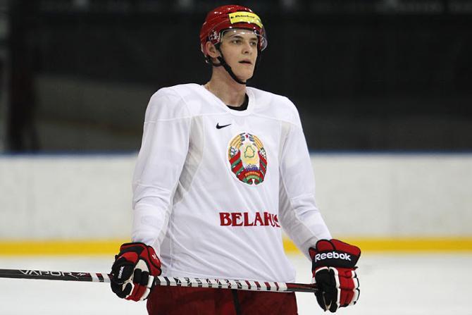 Роман Граборенко быстро превратился из вчерашнего дебютанта в главную надежду белорусского хоккея