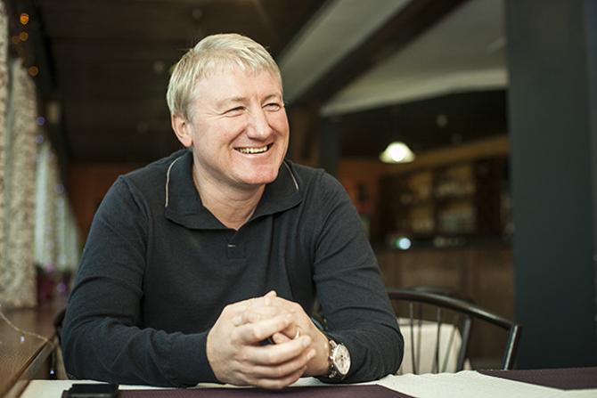 Радислав Орловский вполне хорошо чувствует себя вне футбола.