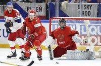 ЧМ по хоккею, Сборная Беларуси по хоккею, Сборная Австрии по хоккею, Владимир Денисов, Виталий Трус, Сборная Чехии по хоккею